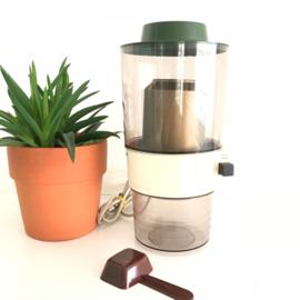 Vintage electrische koffiemolen