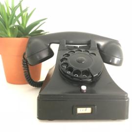Zwarte bakelieten telefoon PTT