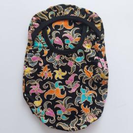 """Stoma cover/hoesje """"Indonesische gekleurde print"""""""