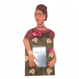 Blikken spiegel Frida Kahlo