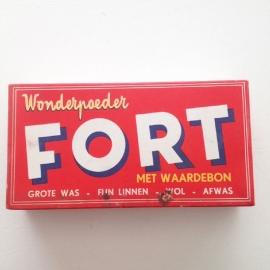 Vintage verpakking Fort wonderpoeder(wasmiddel) nr. 2