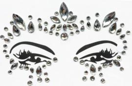 Face Jewels/ gezichts juwelen/stenen voor op gezicht nr 2.10