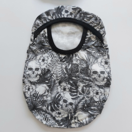 "Stoma cover/hoesje ""Skull print met botanische details"""