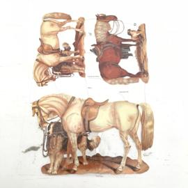 Poezie plaatjes paarden nr. 7136