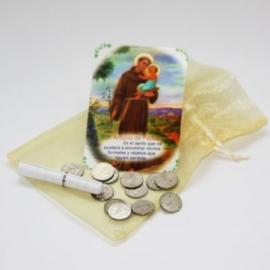 Mexicaans gelukszakje met munten voor bruiloft