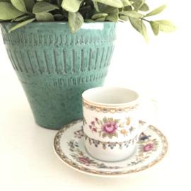 Vintage kop en schotel 41