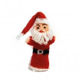 Kerstman vingerpop