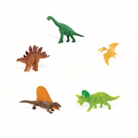 SALE: Lucky mini dino's( set van 5)