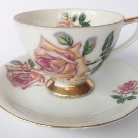 Vintage kop en schotel 10