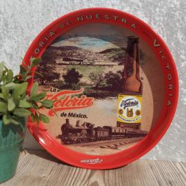 """Vintage """"La Historia de Nuestra Victoria"""" bier dienblad nr. 3"""