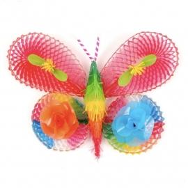 Vlinder plastic, klein