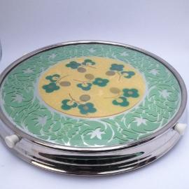 Vintage draaiplateau voor taart