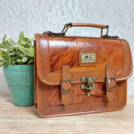 """Vintage handtas """"Marc Chantal"""" , Jaren '70/'80"""