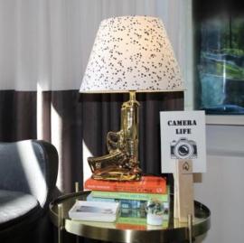 Gouden pistool lamp van Housevitamin♥