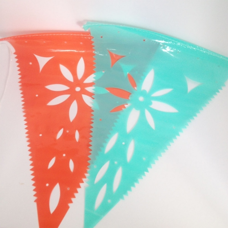 Huren: Slinger plastic Mexicaans ( 4 stuks)