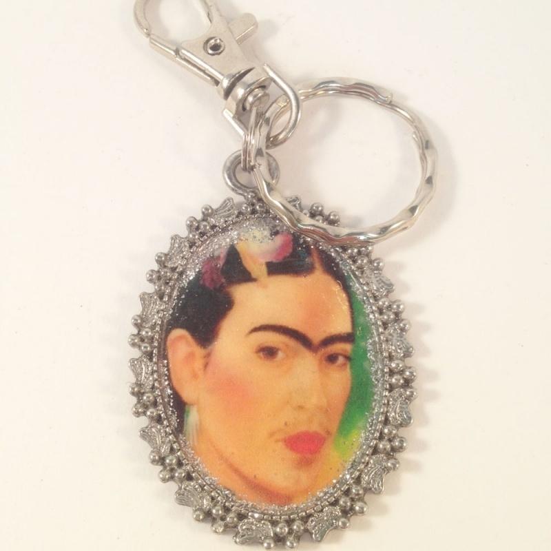 Sleutelhanger Frida Kahlo
