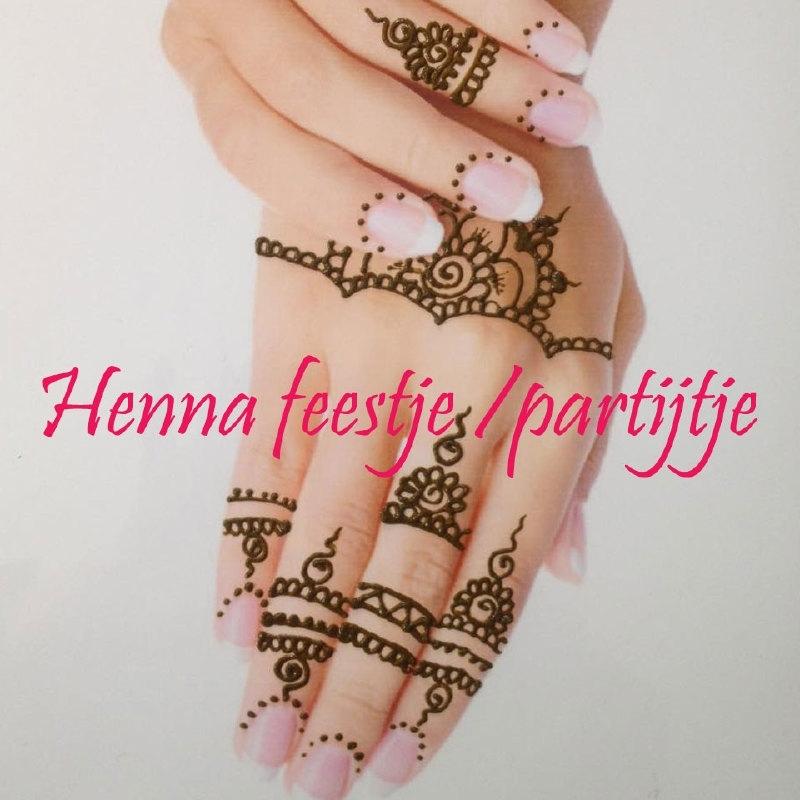 Henna kinderfeestje/partijtje