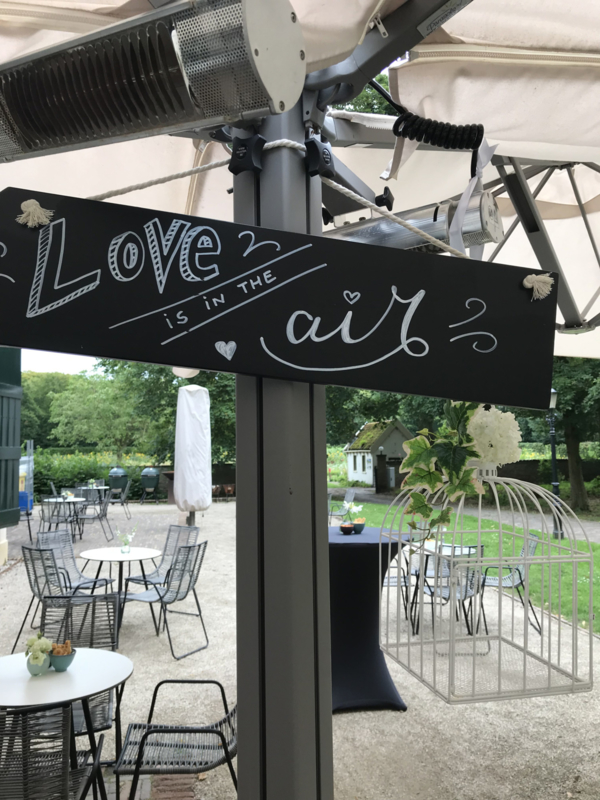 """HUREN bord: """"Love is in the Air """" ♥ Nr. 10"""