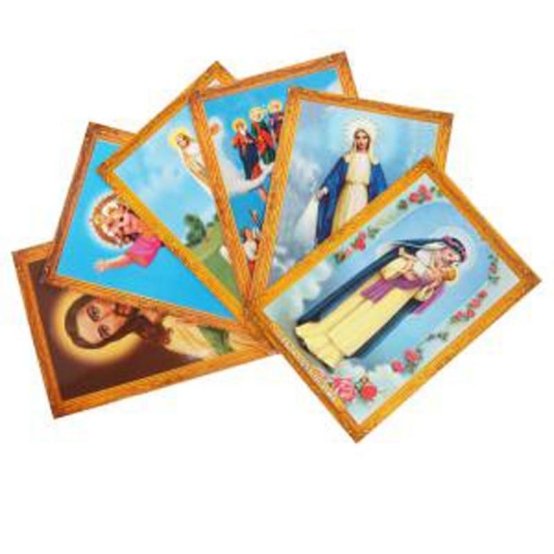 Ansichtkaarten heiligen (5 stuks)