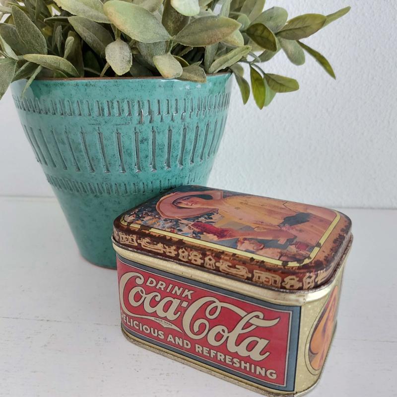 Vintage blik Coca Cola