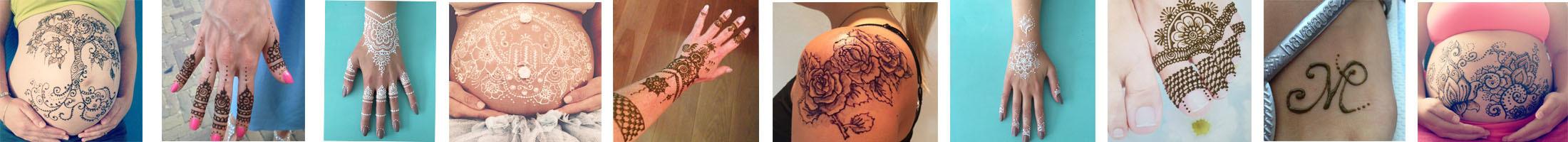 Wilt u ook een mooie henna/ jagua tattoo laten zetten? Dat kan bij Beaudeco!