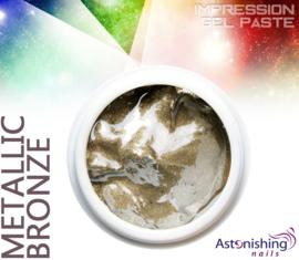 Astonishing Nails Impression Gel Paste Metallic Bronze