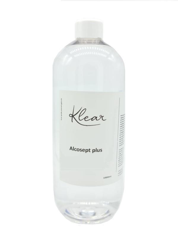 Klear Alcosept Plus 80% Alcohol 1000 ml