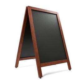 Krijtstoepbord MAHONIE 55x85cm