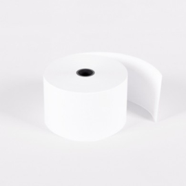 Witte kassarollen houtvrij - 44x70x12 mm