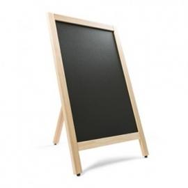 Krijtstoepbord BLANK 55x85cm (enkel)
