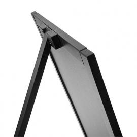 Krijtstoepbord ZWART 55x85cm (enkel)