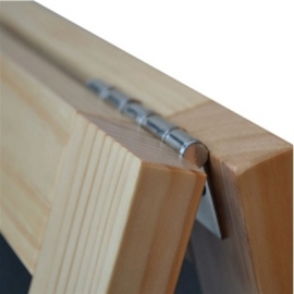 Krijtstoepbord BLANK 75x135cm