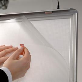 Kliklijst LED verlicht A0 dubbelzijdig