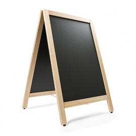 Krijtstoepbord BLANK 55x85cm