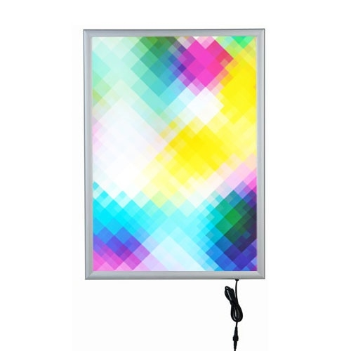 Kliklijst LED verlicht B1 enkelzijdig