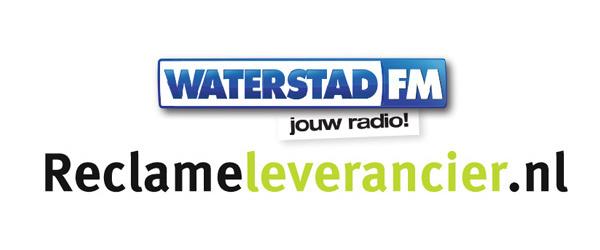 Reclameleverancier.nl is dagelijks te horen in de ether op Waterstad FM