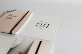 extra kaartje - kraamfeest uitnodiging