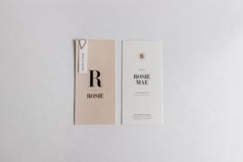 """geboortekaartje - soft & modern """"Rosie Mae"""""""