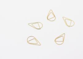 paperclip - goud