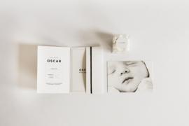 extra kaartje - eerste baby foto (pocketfold)