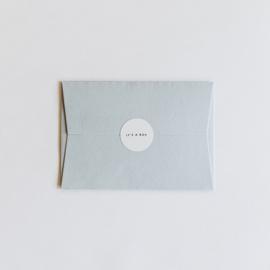 envelop - zacht blauw