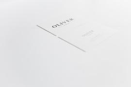 """geboortekaartje - puur & eenvoud """"Oliver"""""""