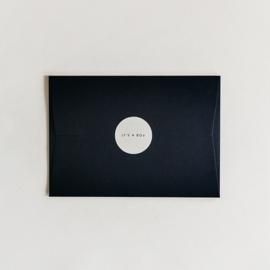 envelop - donker blauw