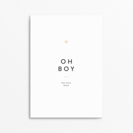 mini poster - Oh! Boy