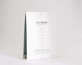 "geboortekaartje tipi ""George"""