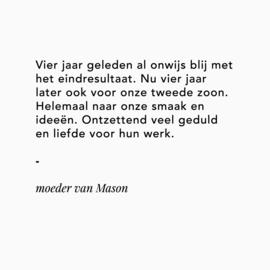 Moeder van Mason