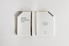 leuke uitspraken & momenten boekje -  collecting moments
