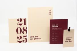 pakket 4 - bold & modern