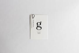 """geboortekaartje - puur & eenvoud """"George"""""""
