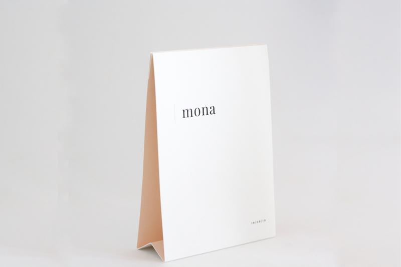 """geboortekaartje tipi """"Mona"""""""